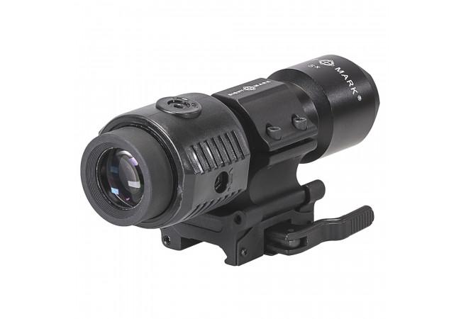 Увеличитель Sightmark 5x Tactical Magnifier быстросъемный совместимый с EOTech и Aimpoint (SM19038)