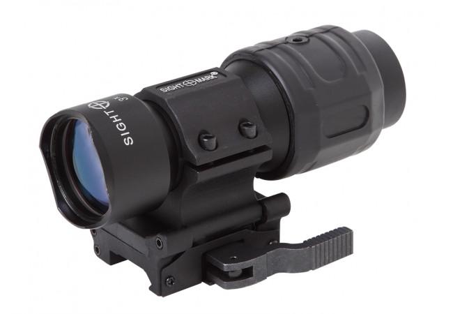 Увеличитель Sightmark 3x Tactical Magnifier быстросъемный совместимый с EOTech и Aimpoint (SM19037)
